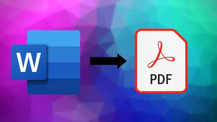 Convert Word Files to PDF