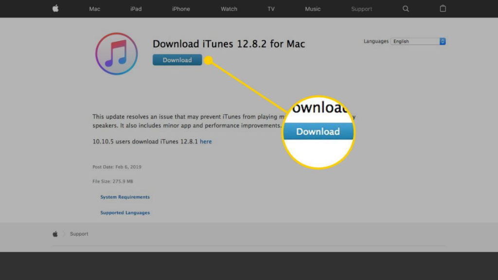 How to update iTunes on Mac using the iTunes app?